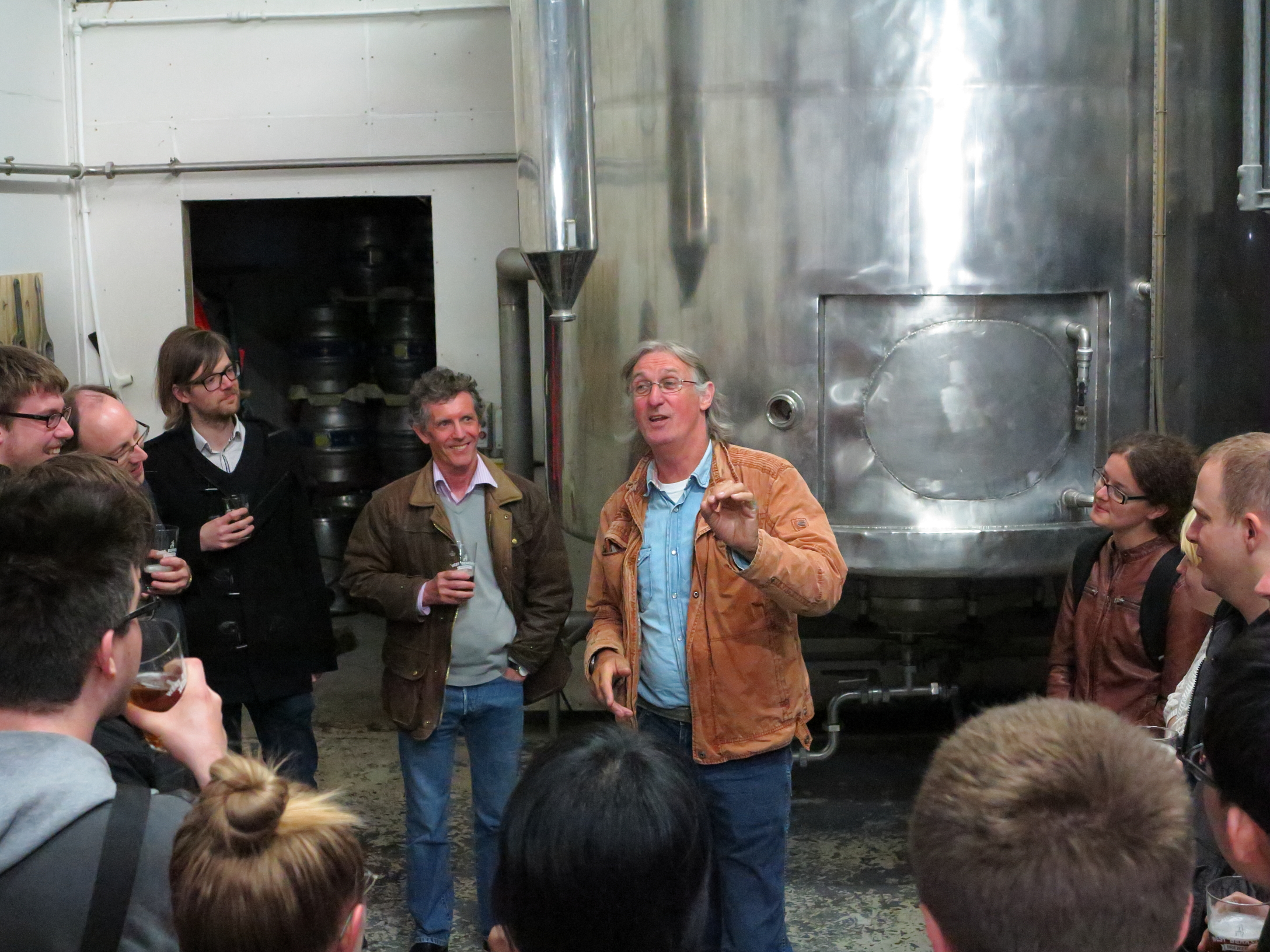 Dave explains brewing