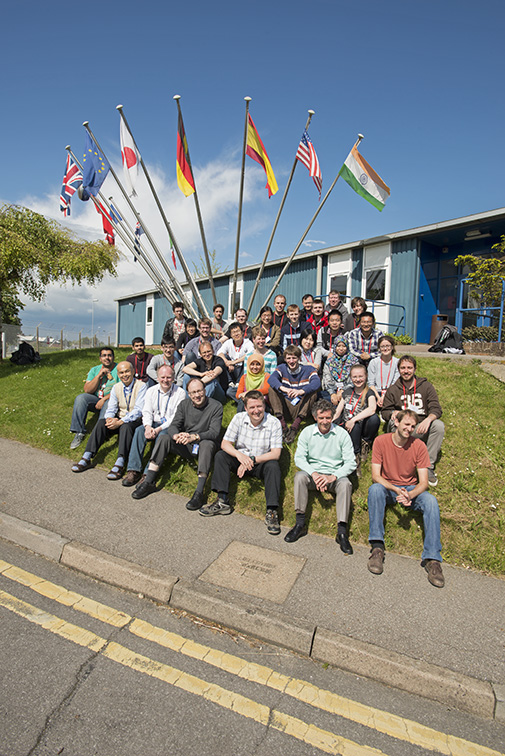 2014 Muon Spectroscopy Training School Group Photo