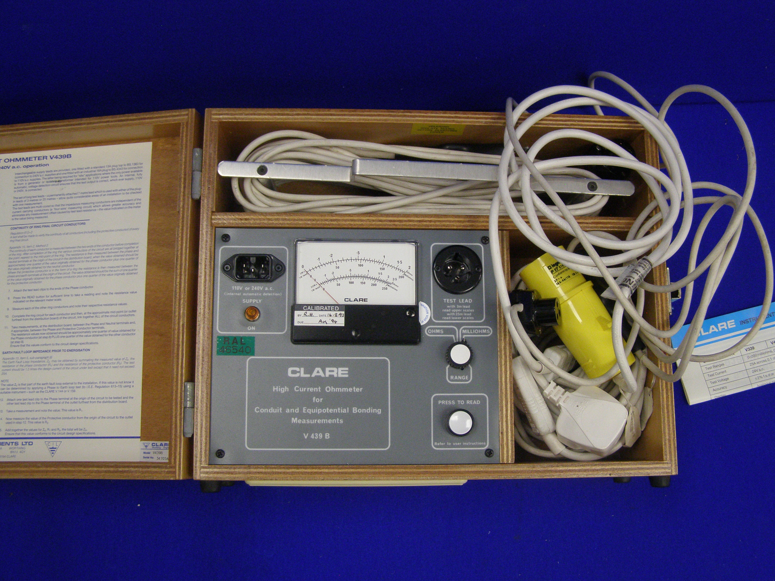 CLARE high current ohmmeter.JPG