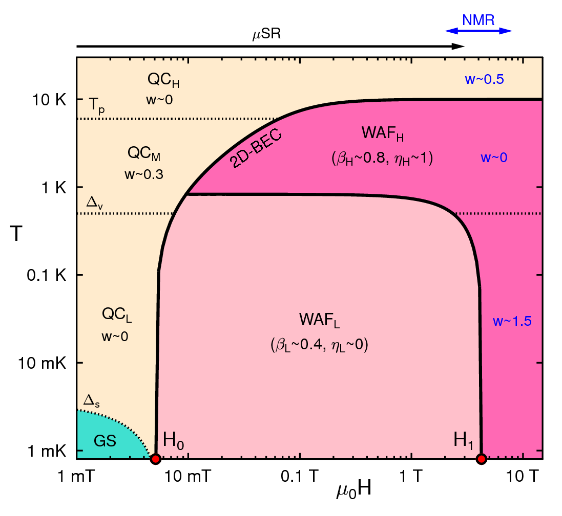 Phase diagram for k-(BEDT-TTF)2Cu2(CN)3
