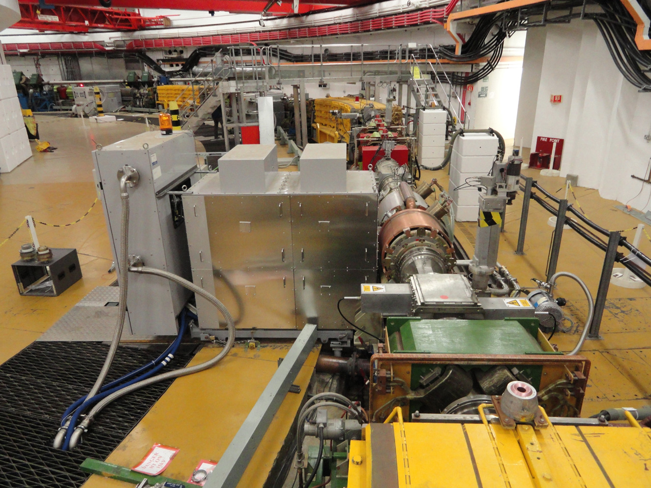 The LOI amplifier in the ISIS synchrotron