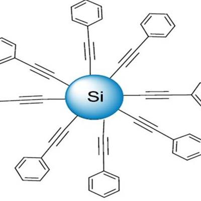 Phenyl acetylene Silicon Nanoparticles